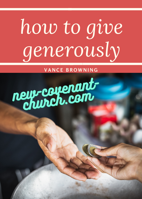 how to give generously