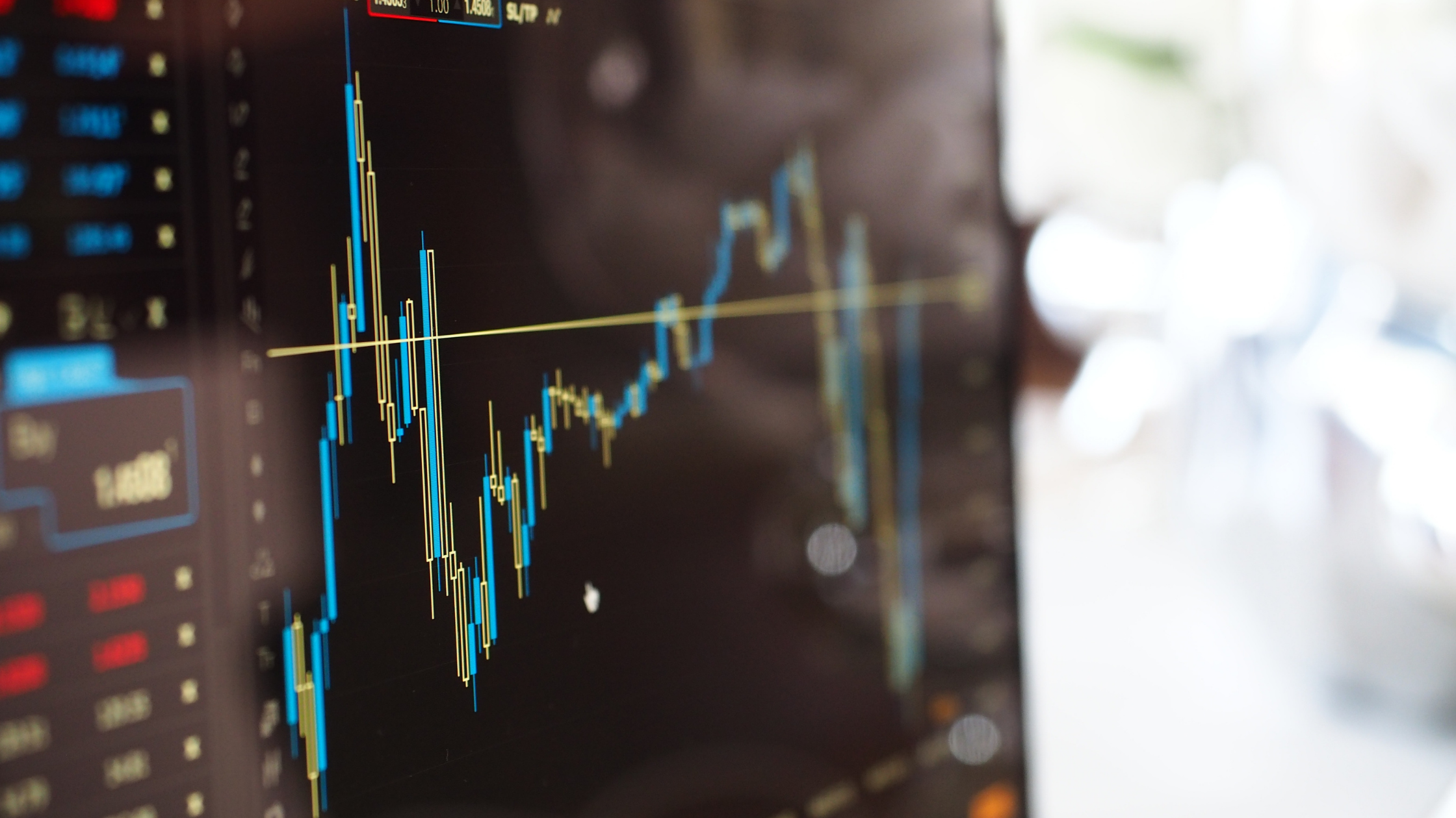 stock prices plummet