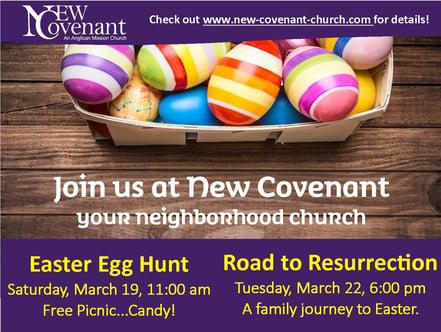 Easte Egg Hunt Mailer