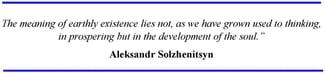 Solzhenitsyn Quotation