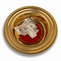 Tithing Plate