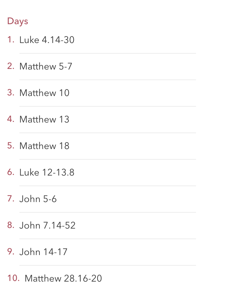 Scriptures for Christopher's Plan